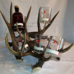 #WHRD-1: Deer Horn Whiskey Rack