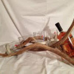 Model #WHRD-2 Deer Horn Whiskey Rack
